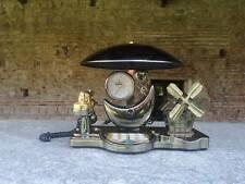 Digital vintage telephone, music box, clock, lamp all in one