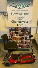 RED Luggie Folding Mobility Scooter ECO MODEL - SERVICED & TESTED #1321