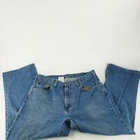 Carhartt Size Work Jeans Loose Fit RN14806 36x27.5