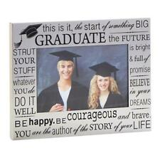 """Graduation Photo Frame Gift With Congratulation Wording 4"""" x 6"""" 60365"""