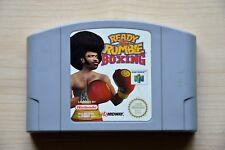 N64-ready 2 RUMBLE BOXING PER NINTENDO 64