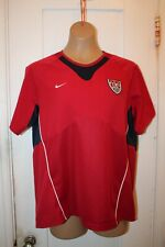 NIKE DRI FIT WOMEN'S US NATIONAL SOCCER TEAM USWNT JERSEY SIZE LARGE VINTAGE