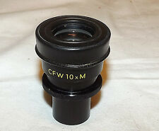 Nikon CFW 10X M Microscope Eyepiece With Reticle