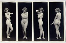 "1910s Vintage Albert Arthur Allen Nude The Female Figure Series 6"" x  11""  mod15"