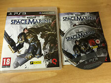 PS3 : warhammer SPACE MARINE