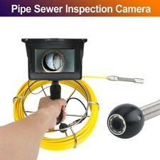 20M 5'' 17mm 1200TVL Handheld Industrial Pipe Sewer Inspection Video Camera