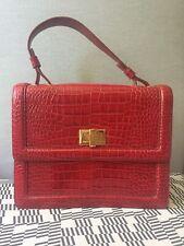 Ladies Lk Bennett Harriet Red Leather Bag