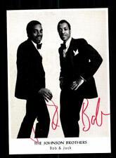 The Johnson Brothers Autogrammkarte Original Signiert ## BC 122419