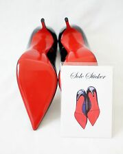 Crystal Clear 3M sole protector guard for Christian Louboutin red bottom heels