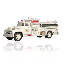 1956 FORD FIRE ENGINE 2015 Hallmark ORNAMENT #13 In Fire Brigade Ford Truck Hose