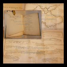 FALCONER: ARRIAN'S VOYAGE ROUND EUXINE SEA 1805, TAVOLE Viaggio MAR NERO+Lettera