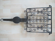 GRIL A VIANDE EN FER FORGE XVIIIEME SIECLE 18TH CENTURY WROUGHT IRON MEAT GRILL