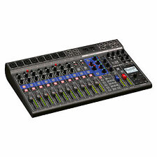 Zoom Livetrak L-12 Digital Mixer 12 Channel 8 Mic Pres 5 Headphone Outs 14-i