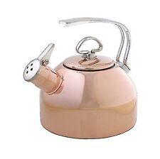 Chantal Copper Classic Teakettle - 1.8 Quart SL37-19CP Tea Kettle