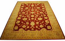 Real Rug Brick Manufacture 358x276 CM 100% Wool Hand Knotted Red
