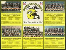 GREEN BAY PACKERS CHAMPIONS 8X10 TEAM PHOTO FOOTBALL NFL PICTURE