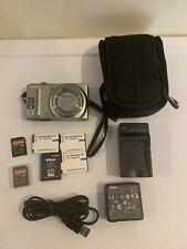Nikon COOLPIX S9100 12.1MP Digital Camera Bundle - Silver