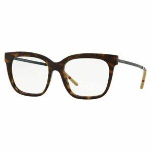Burberry Eyeglasses BE2271 3002 52mm Dark Havana / Demo Lens