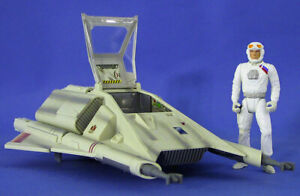 STAR WARS LOOSE ULTRA RARE EXPANDED UNIVERSE AIRSPEEDER WITH EXCLUSIVE PILOT.C10
