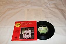 """The Beatles Japanese Import 7"""" Compact 33 1/3 with Lyric Sheet-YOU'RE GOING TO L"""
