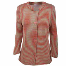 Per Una Acrylic Blend Long Sleeve Striped Jumpers & Cardigans for Women
