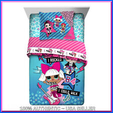 LOL SURPRISE Doll Bedding Set Twin Comforter Sham & Lol Sheet Set 💕BED IN A BAG