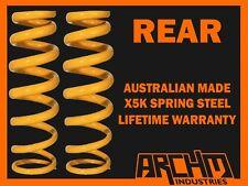 FORD TELSTAR AR/AS NON ADJ ORIG SHOCKS SEDAN REAR 30mm RAISED COIL SPRINGS
