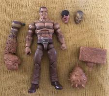 Hasbro Marvel Legends SDCC Raft Sandman Figure Customized Bonus BaF Parts