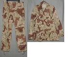 ARMY Desert Storm Era Uniform 6-Color Camouflage Pattern Size MEDIUM LONG 1990