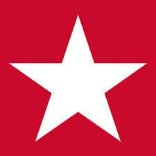 """ambiente Servilletas"""" De Estrellas Rojo"""" 20 piezas,rojo,BLANCO,3 Pliegues,33 X"""