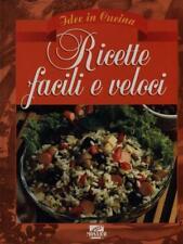 Libri e riviste di cucina e gastronomia ricette facili e veloci | eBay