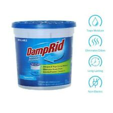 DampRid Fragrance-Free Refillable Moisture Absorber; Lasts up to 60 days