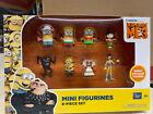 Despicable ME 3 MINIONS Mini figurines 8- piece Set