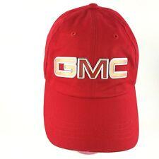 GMC Acadia Baseball Cap Hat Red Cotton Adjustable Adult AHEAD Headgear