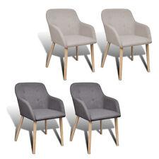 Perfekt 2/4/6x Stühle Stuhl Stuhlgruppe Esszimmerstühle Esszimmerstuhl Armlehne  Eiche