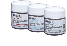 Dental 3m Espe Cavit Wgp Temporary Filling Material 28g Paste Lot 3 Bottles
