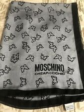 Moschino Cheap And Chic Silk Scarf Butterflies