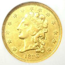 1836 Classic Gold Quarter Eagle $2.50 - NGC XF45 (EF45) - Rare Coin - $910 Value