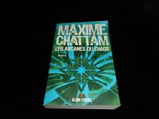 Maxime Chattam : Les arcanes du chaos GF Albin Michel