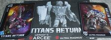 Transformers Titans Return Arcee Ultra Magnus Figure's BIO & MANUAL