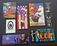 Vintage RAVE Flyer SPLASH, HAIRFORMANCE, CLUB 181, ICON, LOVE STRANGE (LOT 167)
