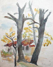 1961 LANDSCAPE WC PAINTING SIGNED
