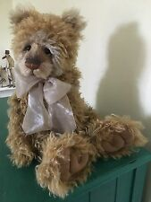Charlie Bears Munroe Limited Edition Isabelle Lee Mohair Bear - Retired