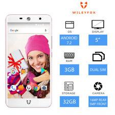 Téléphones mobiles roses en double SIM, 32 Go