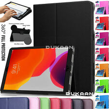 "Case Cover For Apple iPad 10.2"" (7th Gen) 2019 Leather Smart Stand Flip Folding"