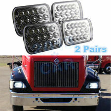 LED Headlights For International IHC Headlight Assembly 9400i 9900 9200 2 Pairs