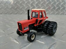 1/64 ERTL custom agco allis chalmers 7010 black belly tractor w/ Duals farm toy