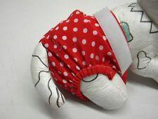culotte chienne chaleur confort ventre 32/40cm rouge poids creation toutou
