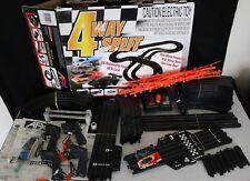 AURORA TOMY 4 WAY SPLIT  AFX HO SCALE RACE TRACK SET RACING SYSTEM