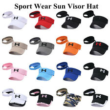 New Adjustable Golf Tennis Beach Plain Visor Sun Hat Sports Cap Empty Top Unisex